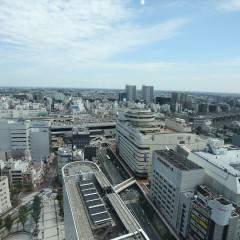 21階からの眺めは最高です。