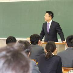 栄東高校講演