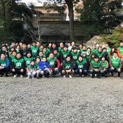 12月の氷川神社清掃を行いました