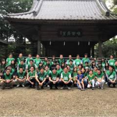 7月度の氷川神社清掃を行いました