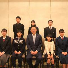 【11月30日に武蔵奨学会の認定式が行われました】