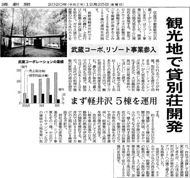 【日本経済新聞(埼玉版)に掲載されました】 画像