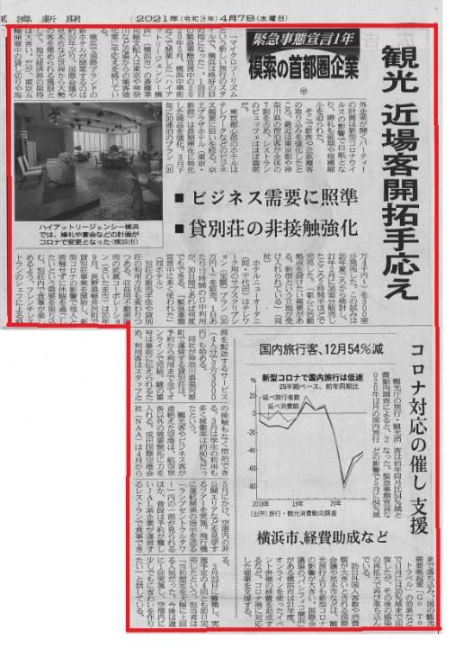 【日経新聞(首都圏版)に掲載されました】 画像